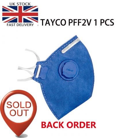TAYCO FFP2-V Disposable Masks | N95 Disposable Masks |  1PCS
