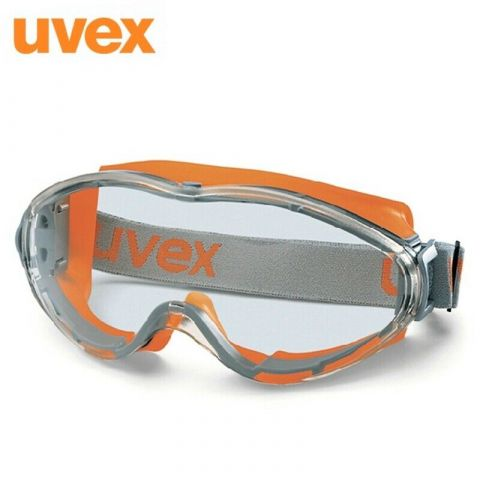 Uvex 9302-245 Ultrasonic Anti-Mist Scratch Resistant Clear Safety Goggles